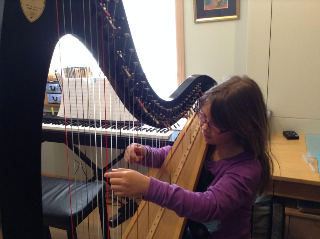 harp student